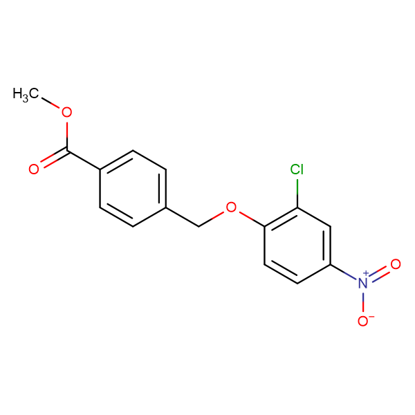 4-(2-Chloro-4-nitro-phenoxymethyl)-benzoic acid methyl ester