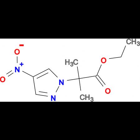 2-Methyl-2-(4-nitro-pyrazol-1-yl)-propionic acid ethyl ester