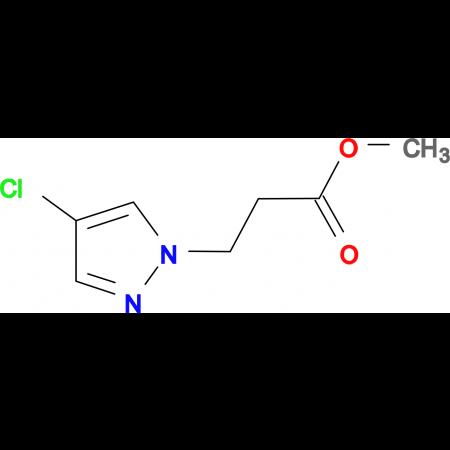 3-(4-Chloro-pyrazol-1-yl)-propionic acid methyl ester