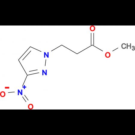 3-(3-Nitro-pyrazol-1-yl)-propionic acid methyl ester