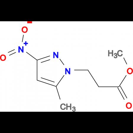 3-(5-Methyl-3-nitro-pyrazol-1-yl)-propionic acid methyl ester