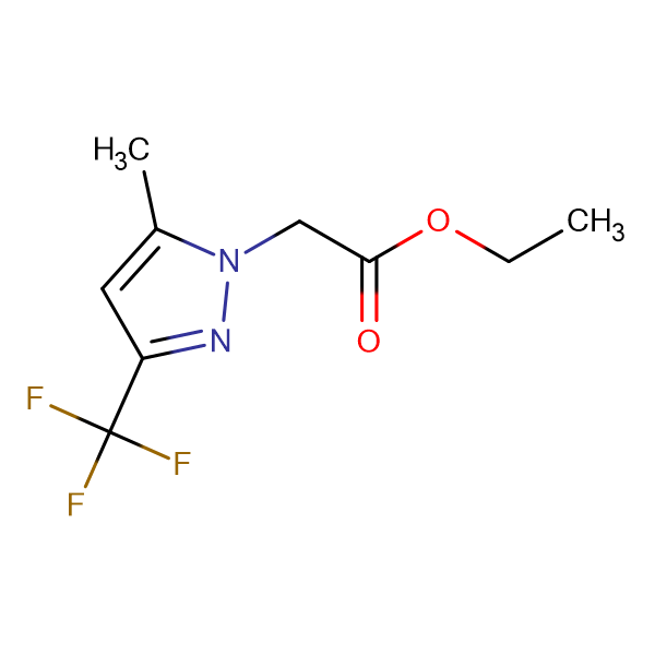 (5-Methyl-3-trifluoromethyl-pyrazol-1-yl)-acetic acid ethyl ester