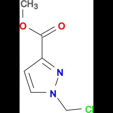 1-Chloromethyl-1 H -pyrazole-3-carboxylic acid methyl ester