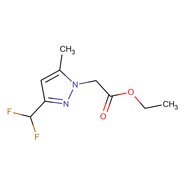 (3-Difluoromethyl-5-methyl-pyrazol-1-yl)-acetic acid ethyl ester
