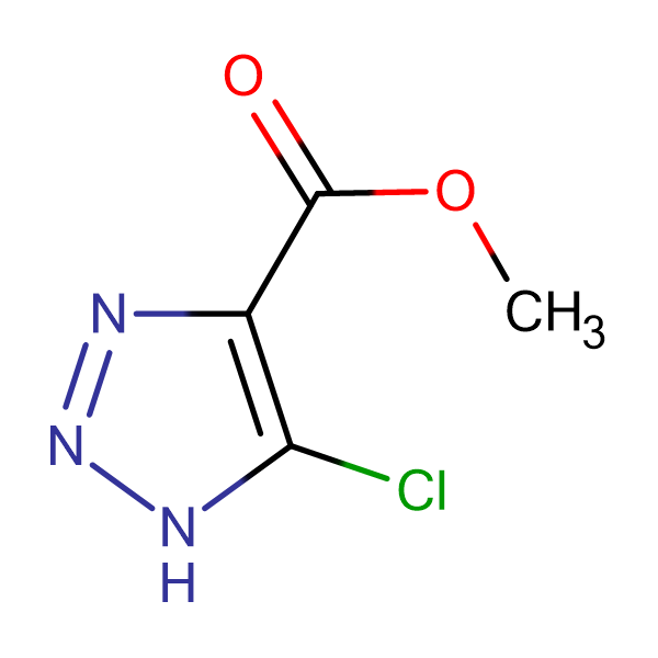 5-Chloro-1 H -[1,2,3]triazole-4-carboxylic acid methyl ester