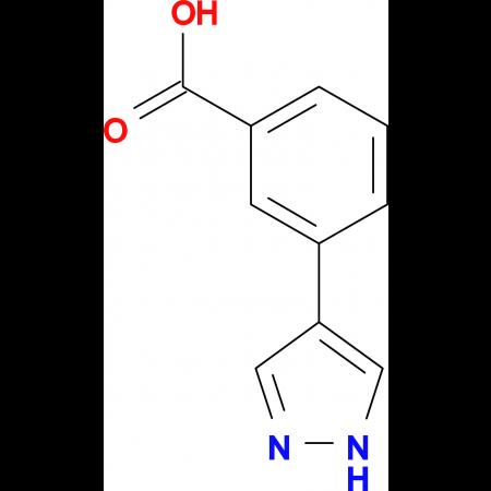 3-(1 H -Pyrazol-4-yl)-benzoic acid