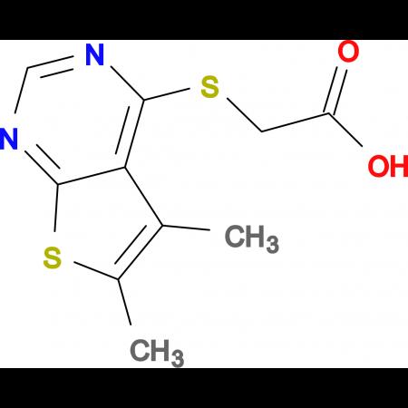 (5,6-Dimethyl-thieno[2,3- d ]pyrimidin-4-ylsulfanyl)-acetic acid