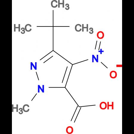 5- tert -Butyl-2-methyl-4-nitro-2 H -pyrazole-3-carboxylic acid