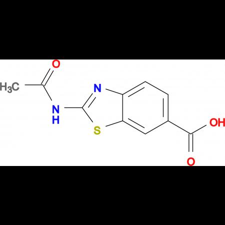 2-Acetamidobenzo[d]thiazole-6-carboxylic acid