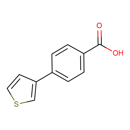 4-Thiophen-3-yl-benzoic acid