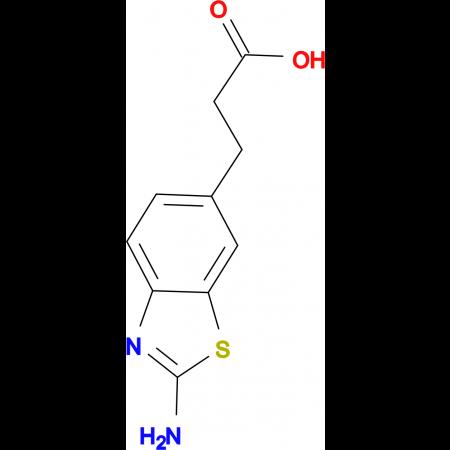 3-(2-Amino-benzothiazol-6-yl)-propionic acid