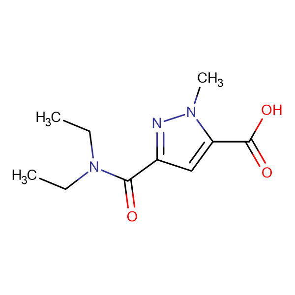 5-Diethylcarbamoyl-2-methyl-2 H -pyrazole-3-carboxylic acid