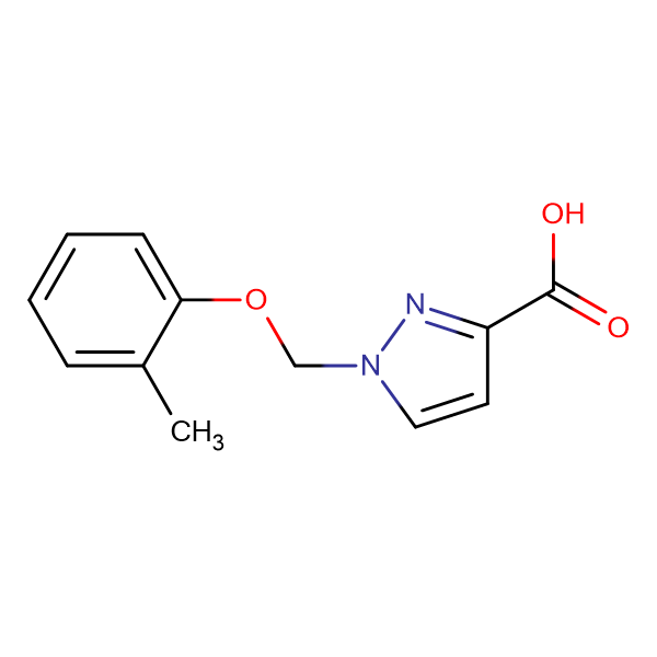 1- o -Tolyloxymethyl-1 H -pyrazole-3-carboxylic acid