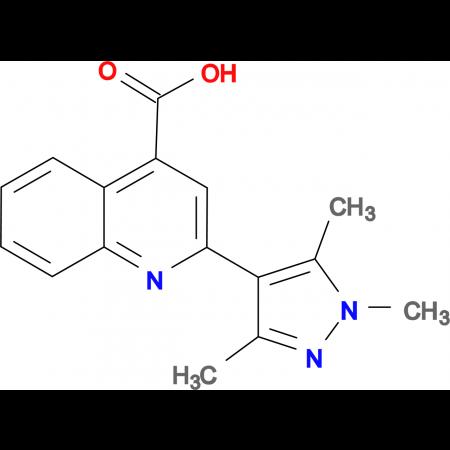 2-(1,3,5-Trimethyl-1 H -pyrazol-4-yl)-quinoline-4-carboxylic acid
