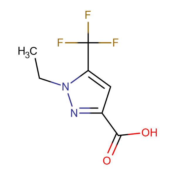 1-Ethyl-5-trifluoromethyl-1 H -pyrazole-3-carboxylic acid