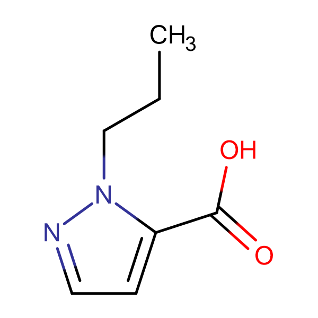 2-Propyl-2 H -pyrazole-3-carboxylic acid