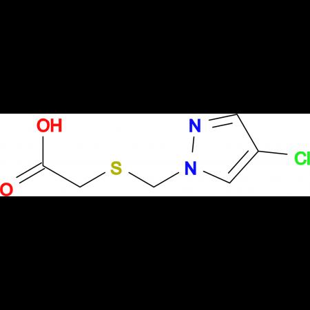 (4-Chloro-pyrazol-1-ylmethylsulfanyl)-acetic acid