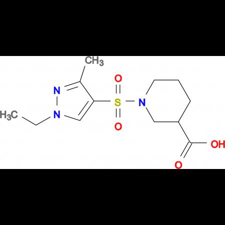 1-(1-Ethyl-3-methyl-1 H -pyrazole-4-sulfonyl)-piperidine-3-carboxylic acid