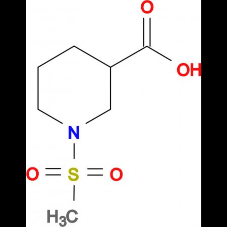 1-Methanesulfonyl-piperidine-3-carboxylic acid
