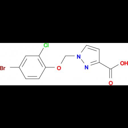 1-(4-Bromo-2-chloro-phenoxymethyl)-1 H -pyrazole-3-carboxylic acid