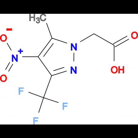 (5-Methyl-4-nitro-3-trifluoromethyl-pyrazol-1-yl)-acetic acid