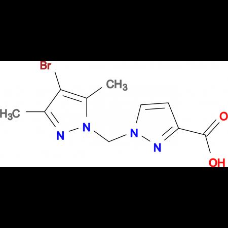 1-(4-Bromo-3,5-dimethyl-pyrazol-1-ylmethyl)-1 H -pyrazole-3-carboxylic acid