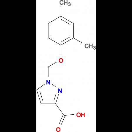 1-(2,4-Dimethyl-phenoxymethyl)-1 H -pyrazole-3-carboxylic acid