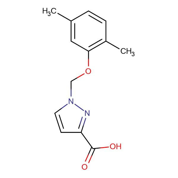 1-(2,5-Dimethyl-phenoxymethyl)-1 H -pyrazole-3-carboxylic acid