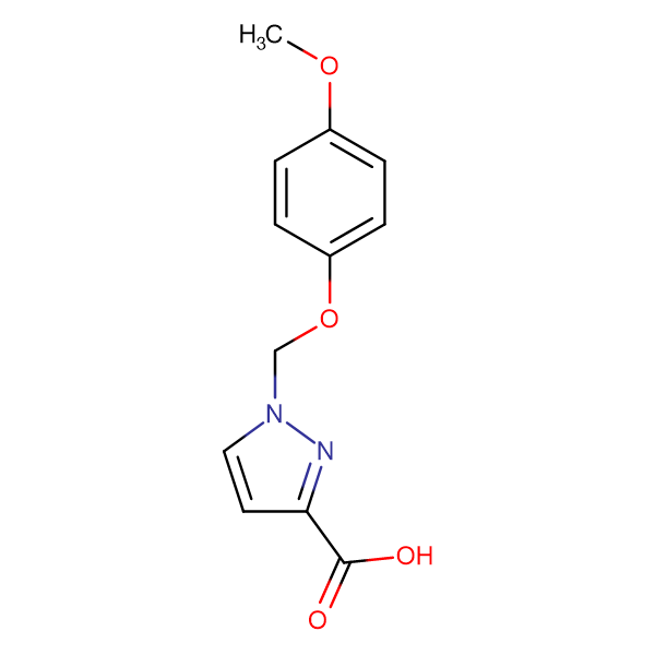 1-(4-Methoxy-phenoxymethyl)-1 H -pyrazole-3-carboxylic acid