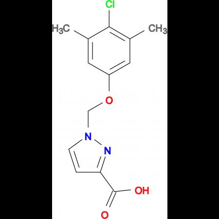 1-(4-Chloro-3,5-dimethyl-phenoxymethyl)-1 H -pyrazole-3-carboxylic acid