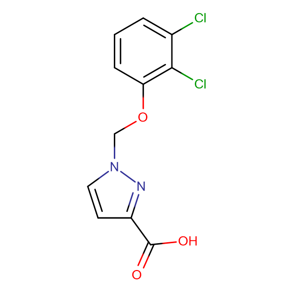 1-(2,3-Dichloro-phenoxymethyl)-1 H -pyrazole-3-carboxylic acid