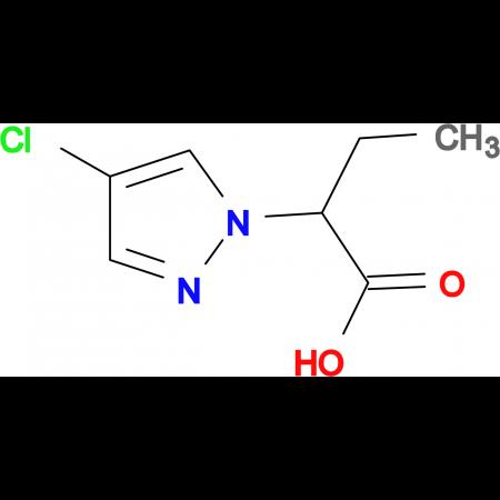 2-(4-Chloro-pyrazol-1-yl)-butyric acid