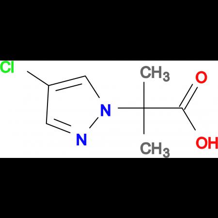2-(4-Chloro-pyrazol-1-yl)-2-methyl-propionic acid