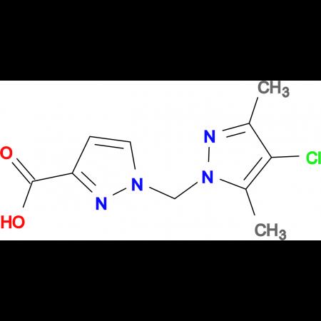 1-(4-Chloro-3,5-dimethyl-pyrazol-1-ylmethyl)-1 H -pyrazole-3-carboxylic acid