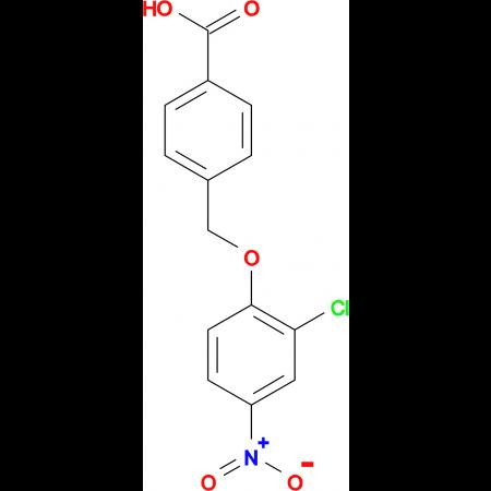 4-(2-Chloro-4-nitro-phenoxymethyl)-benzoic acid