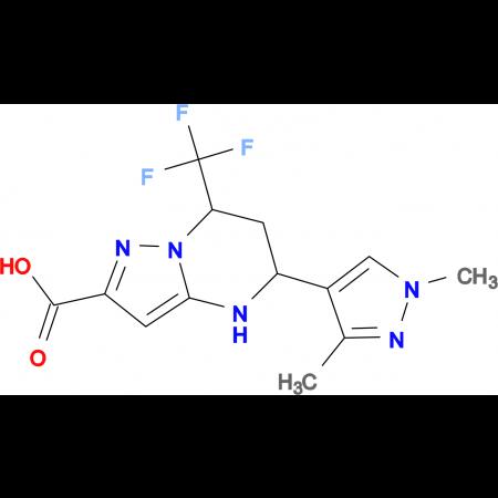 5-(1,3-Dimethyl-1 H -pyrazol-4-yl)-7-trifluoromethyl-4,5,6,7-tetrahydro-pyrazolo[1,5- a ]pyrimidine-2-carboxylic acid