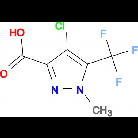 4-Chloro-1-methyl-5-trifluoromethyl-1 H -pyrazole-3-carboxylic acid