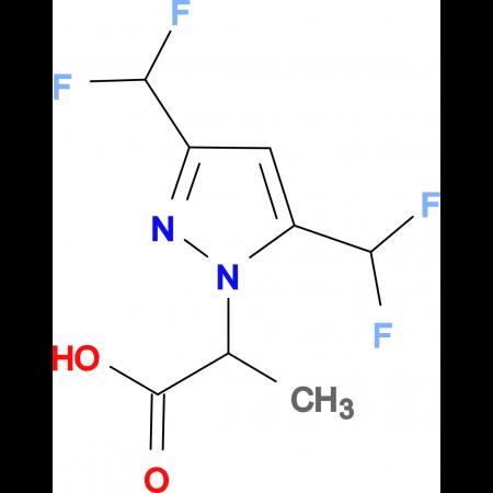 2-(3,5-Bis-difluoromethyl-pyrazol-1-yl)-propionic acid