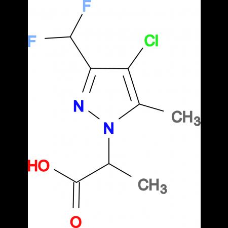 2-(4-Chloro-3-difluoromethyl-5-methyl-pyrazol-1-yl)-propionic acid