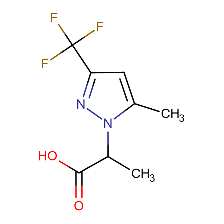 2-(5-Methyl-3-trifluoromethyl-pyrazol-1-yl)-propionic acid