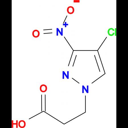 3-(4-Chloro-3-nitro-pyrazol-1-yl)-propionic acid