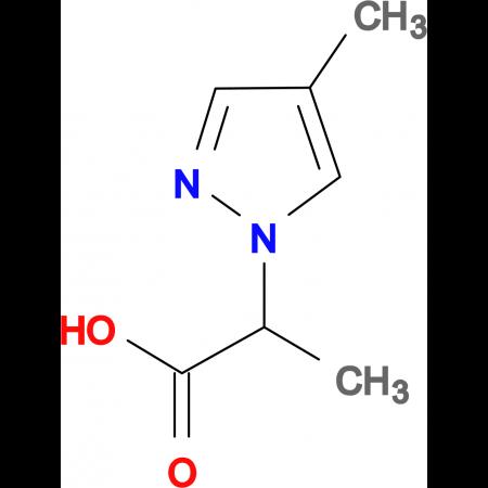 2-(4-Methyl-pyrazol-1-yl)-propionic acid