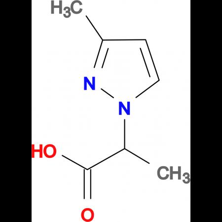 2-(3-Methyl-pyrazol-1-yl)-propionic acid