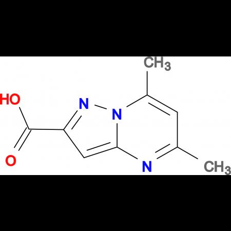 5,7-Dimethyl-pyrazolo[1,5- a ]pyrimidine-2-carboxylic acid