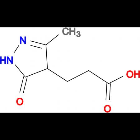 3-(3-Methyl-5-oxo-4,5-dihydro-1 H -pyrazol-4-yl)-propionic acid
