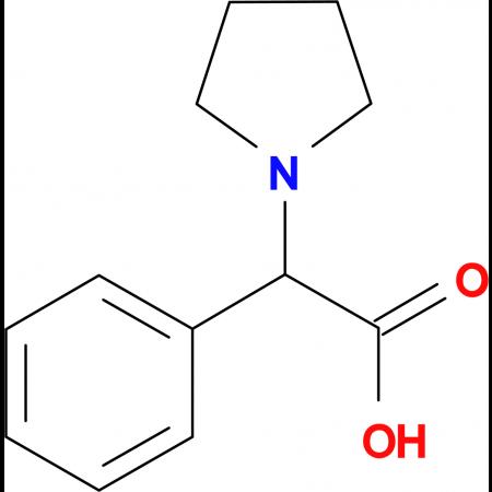 Phenyl-pyrrolidin-1-yl-acetic acid