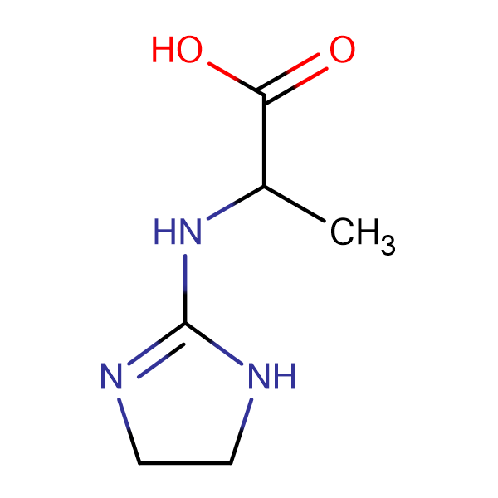 2-(4,5-Dihydro-1 H -imidazol-2-ylamino)-propionic acid