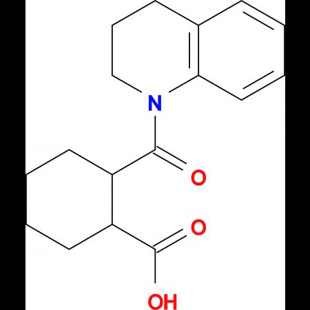 2-(3,4-Dihydro-2 H -quinoline-1-carbonyl)-cyclohexanecarboxylic acid