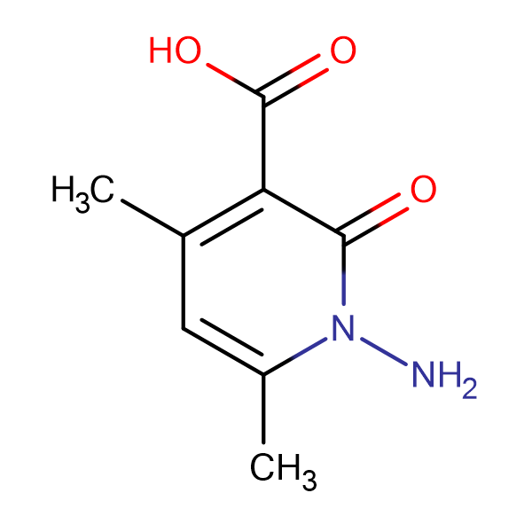 1-Amino-4,6-dimethyl-2-oxo-1,2-dihydro-pyridine-3-carboxylic acid