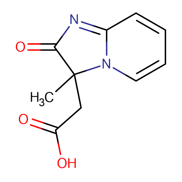 (3-Methyl-2-oxo-2,3-dihydro-imidazo[1,2- a ]pyridin-3-yl)-acetic acid